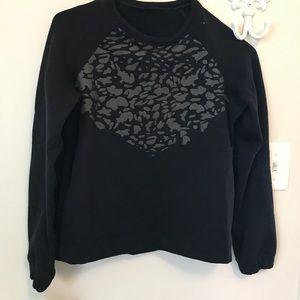 Black, lululemon reflective sweatshirt